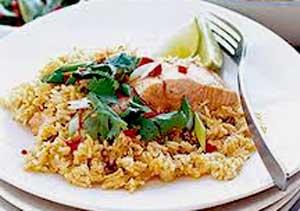 arroz-con-salmon