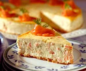 Cheesecake de Salmón