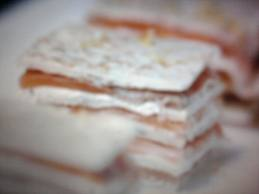 Milhojas de salmón ahumado Thermomix