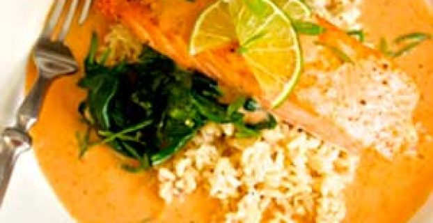 Salmón al Curry