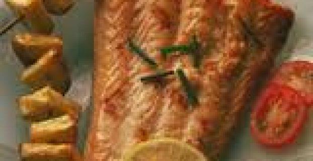 Salmón al Roquefort