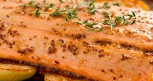 Salmon con Manzana
