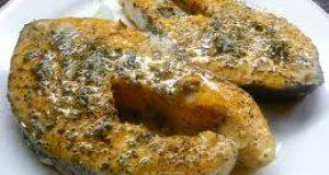 Salmón Frito