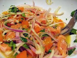 ... de Salmón con Ceviche - Recetas de Salmon Ahumado - Recetas de Salmon