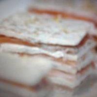 Milhojas de salmon ahumado Themomix