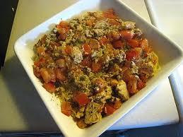Salmón en Salsa de Tomate