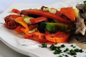 Tacos de Salmón a la plancha con verduras